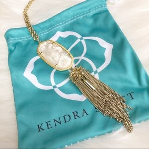Kendra Scott Rayne Necklace in White Pearl